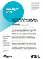 Artificial intelligence: a game changer for the world of work
